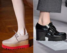 Neue Schuhe für den Herbst: Plateausohle