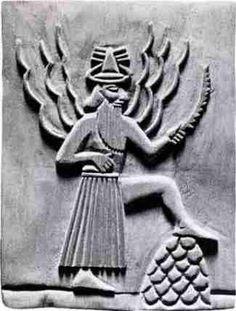 Utu, Sumerian Sun god of Justice
