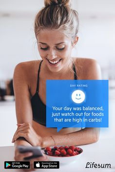 A personal nutritionist for less than the price of a Latte. Monitor your eating habits and get personal tips on how to improve with the Lifesum app. Download free now!