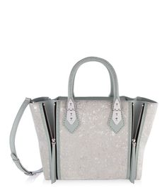 A-List Haircalf Satchel | Sale | Henri Bendel
