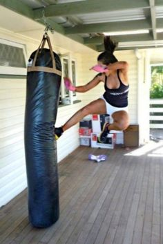 Kickboxing is a GREAT release...and lots of fun!
