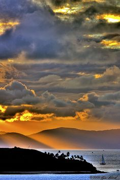 Hamilton Island, Sunset, Australia,