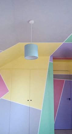 Graphic Wall and ceiling