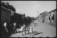 """Title: [Untitled photo, possibly related to: Street in slum area known as """"El Machuelitto,"""" in Ponce, Puerto Rico]   Creator(s): Delano, Jack, photographer   Date Created/Published: [1941 Dec.]"""