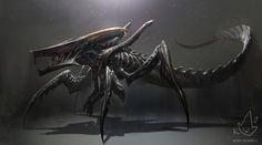Xenomorph + Starship Trooperes Warrior Bug by Koryface on @DeviantArt
