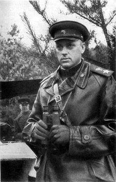 Маршал Советского Союза Константин Константинович Рокоссовский. 1944.