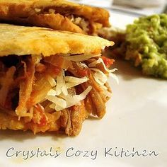 Rick Bayless' gordita recipe-try with shredded pork?