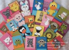 PUNCH ART CLASSES TO ORDER ... Addicted to Stamping: Cute Critters Punch Art Class