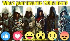 Who's your??   #James #assassinscreed #assassins #ubisoft #assassinscreedmovie #aguilardenerha #assassinscreed #assassins #creed #assassin #ac #assassinscreeed2 #assassinscreedbrotherhood #assassinscreedrevelations #assassinscreed3 #assassinscreedblackflag #assassinscreedrogue #assassinscreedunity #assassinscreedsyndicate #altairibnlaahad #ezioauditore #connorkenway #edwardkenway #arnodorian #jacobfrye #eviefrye #pc #xbox #playstation