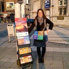 Public witnessing in Belgium. Photo shared by @monogramisart