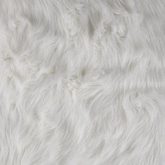 Faux Fur Arctic Fox White from @fabricdotcom  Spoil yourself with this exquisite long hair faux fabric. Fur has 2 1/2'' pile, a luxurious hand and a soft subtle sheen just like the real thing! Make gorgeous jackets, coats, wraps, fashion accessories, pillows, throws and more!