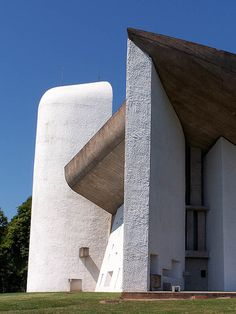 I like the Notre Dame du Haut as an example of the ideal form and proportion. It also embodies the idea of cultural memory in this area by being a important example of religious architecture.