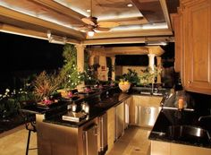images of elegant outdoor spaces | One of the things that gets overlooked the most with outdoor kitchen ...