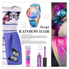"""RoseGal #39"" by shambala-379 ❤ liked on Polyvore featuring unicornhair"