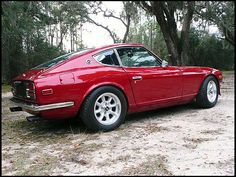 My second car, a 1974 Datsun 260Z but in a bronze color.