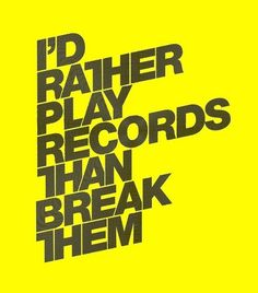 All sizes | Play Records - 19 / 01 / 09 | Flickr - Photo Sharing! #typography #olly moss