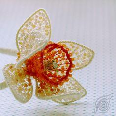Headdress Daffodil; nycrame; by Nady (http://www.nady.cz/ostatni/celenka-narcis-94/)