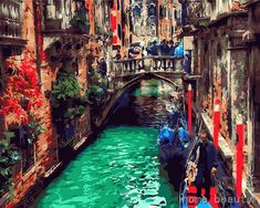 Venice #OilPaintingCity