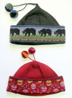Finnish ~ Love the hat shape, colours and patterning...... gorgeous!