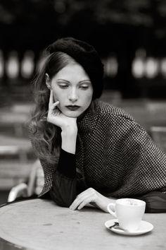 Paris, vintage fashion and coffee . . .