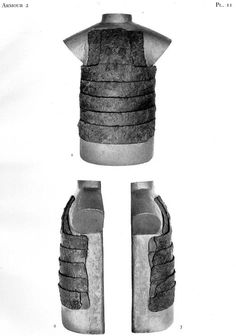 Visby Coat of Plates Armour 2, Type I. Post in link makes the claim based on Thordeman that horisontal plates are mid 14th century at the earliest.