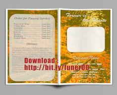 Kostenlose Beerdigung Programm Vorlage Microsoft Word