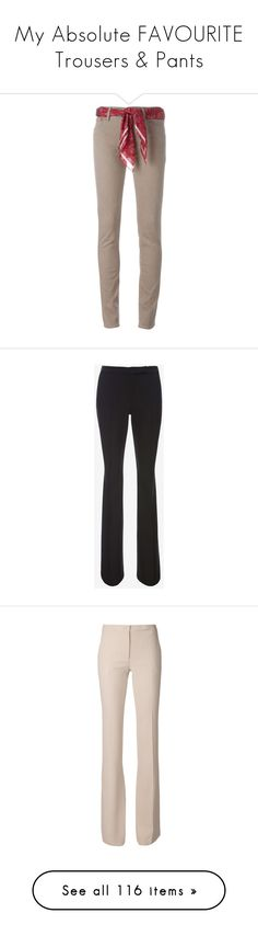"""""""My Absolute FAVOURITE Trousers & Pants"""" by libby77 ❤ liked on Polyvore featuring pants, capris, brown skinny pants, skinny pants, skinny trousers, brown trousers, brown pants, black, elizabeth and james pants and elizabeth and james"""