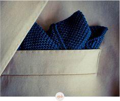 MS Silk Knit Pocket Squares