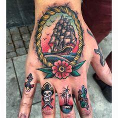 Daniel Norin | FUCK YEAH HAND TATTOOS !!