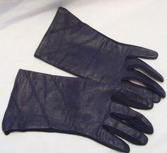 Vintage Ladies Gloves Leather