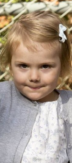 Swedish little Princess Estelle on the 1st day at the preschool Aventyret (The Adventure) in Djursholm, Sweden, 25-08-2014