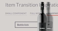 Some inspiration and ideas for item transitions considering different scenarios and use cases including a small component, a full-width image header and a product image with a transparent background. State transitions are done using CSS Animations. Html Slider, Slider Web, App Design, Site Design, Flat Design, Css Style, Ui Animation, Use Case, Web Development