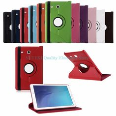 >> Click to Buy << Rotation PU Leather Flip Stand Case Cover For Samsung Galaxy Tablet E 8.0 T377V#High Quality#Q1FC #Affiliate