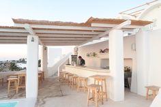 rocabella hotel santorini pool bar