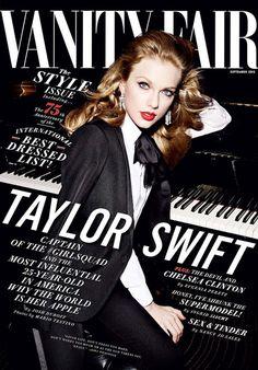 Taylor Swift looks stunning on the cover of Vanity Fair magazine's September 2015 issue, photographed by Mario Testino. In Vanity Fair's September cover - Adesola Ade-Unuigbe. Vogue Korea, Vogue Japan, Vogue Uk, V Magazine, Vanity Fair Magazine, Magazine Covers, Female Magazine, Maxim Magazine, Mario Testino