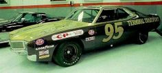 The car driven by Daryll Waltrip in his rookie season