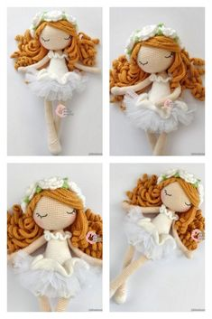 Amigurumi Baker Lily Doll Free Pattern Red Lily, Crochet Amigurumi Free Patterns, Hello Dear, Doll Head, Amigurumi Doll, Stitch Markers, Crochet Hooks, Dolls, Christmas Ornaments