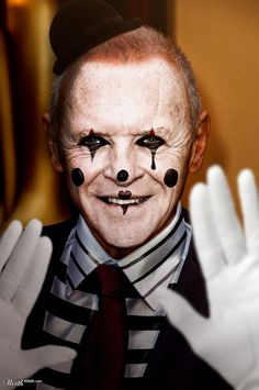 Creepy Killer Clowns  Celebrities As Clowns - Celebrities As Clowns Are  Haunting And Oddly Tra. a5796a90cd229