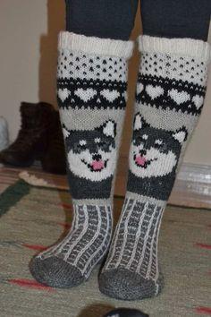 Wool Socks, Knit Mittens, Knitting Socks, Crochet Woman, Knit Crochet, Knitting Stitches, Knitting Patterns, Kids Socks, Stuffed Animal Patterns