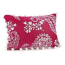 image of Jessica Simpson Noni Floral Paisley Oblong Throw Pillow