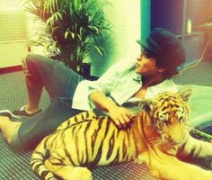 """If you came out with a cologne line for men what would you name it? """"Tiger Musk"""" - Bruno Mars"""