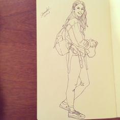 Fashion Sketch #005