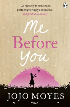 Me Before You, by JoJo Moyes. Click on the cover to read a review of this title by Lori.