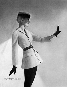 Harper's Bazaar March 1955Photo by RichardAvedon  Model Sunny Harnett