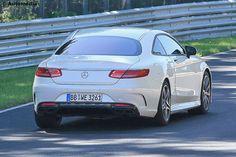 Mercedes SL (2019): Erlkönig