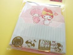 Photo1: Kawaii Cute Mini Letter Set Sanrio Japan Exclusive *MY Melody (13086)