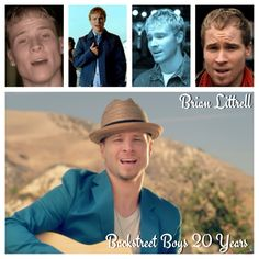 Backstreet Boys 20 year Anniversary! Brian Littrell through the years..