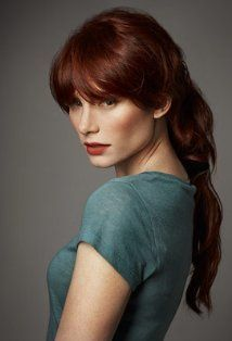 Bryce Dallas Howard. The beauty of getting older is you can choose your hair color; this is the Red I aspire to.