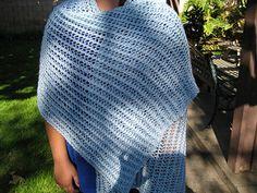 This pattern has a three stitch rhythm to it.