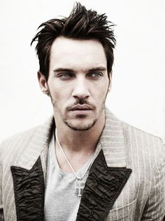 Jonathan Rhys Meyers. I don't know that he's one of my face crushes, but he certainly intrigues me.